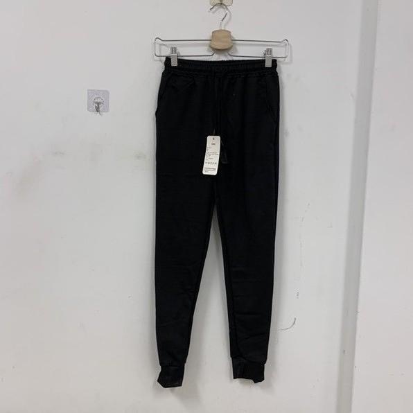 韓版百搭基本款高腰休閒運動褲(S號/777-6125)