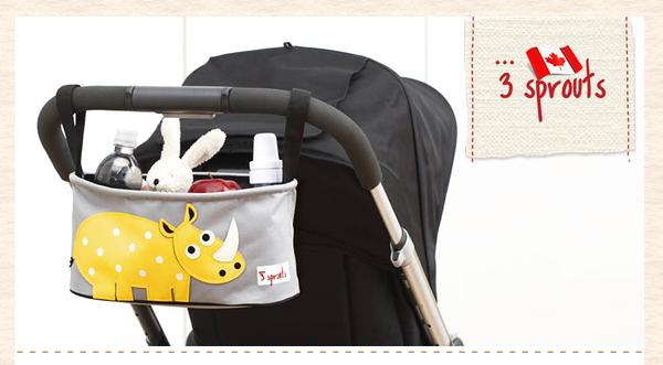 加拿大3 Sprouts 推車置物袋~兔子【原廠公司貨】