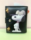 【震撼精品百貨】史奴比_Peanuts Snoopy ~SNOOPY二折皮夾-黑棒球帽#12900