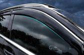 奔馳c級晴雨擋 GLC260車窗雨眉