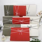 韓式禮品盒相框禮盒大號圍巾盒衣服包裝簡易生日禮物盒子 js20927『小美日記』