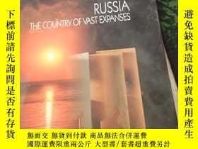二手書博民逛書店RUSSIA罕見THE COUNTRY OF VAST EXPANSES【8開版本畫冊】Y21714 Enla