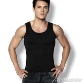 背心男夏季男士純色棉背心打底緊身運動健身無袖工字背心  潮流時