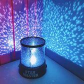 韓國同款夢幻少女心滿天星星天馬行空小夜燈LED投影燈房間裝飾【販衣小築】