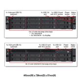 Lenovo ThinkSystem SR650 7X06W2NQ00 2U機架式伺服器【Intel Xeon Silver 4210 / 16GB / Raid 930-8i + 2G】(2.5吋)