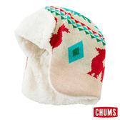CHUMS 日本 飛行保暖帽 護耳帽 原色白 CH051022W002