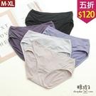 【五折價$120】糖罐子車線造型純色素面內褲→預購(M-XL)【DD2263】
