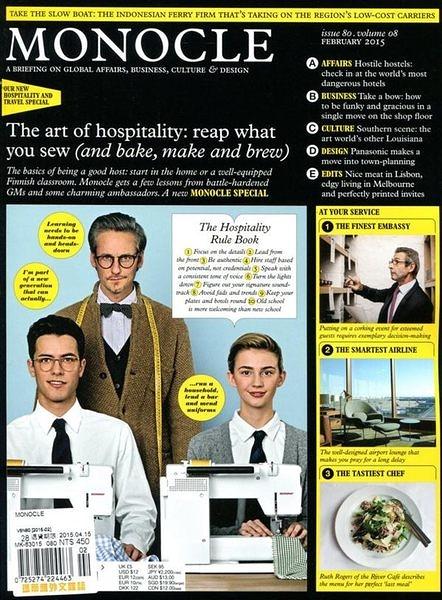 MONOCLE 2月號/2015:The Art of Hospitality