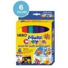《享亮商城》LMUCR8-6 6色萬能彩繪蠟筆8g LEEHO
