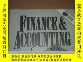 二手書博民逛書店Finance罕見& Accounting For Nonfinancial Managers-非財務經理財務會計
