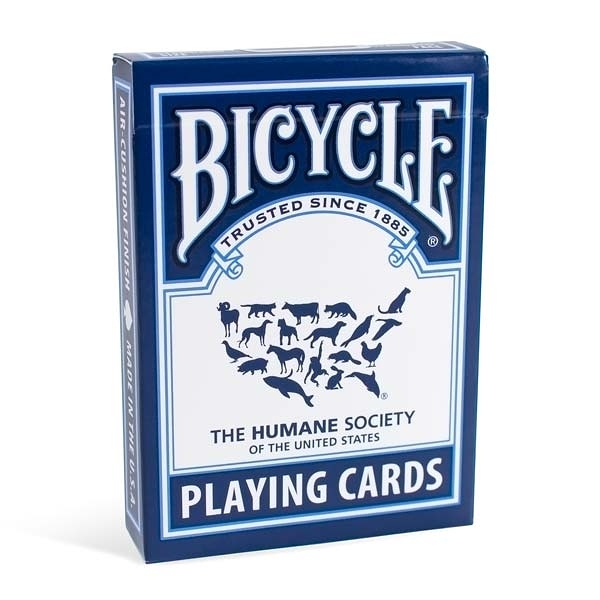 【USPCC 撲克】撲克牌 BICYCLE HUMANE SOCIETY