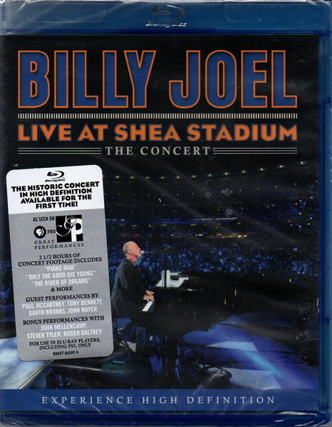 【停看聽音響唱片】【BD】BILLY JOEL:LIVE AT SHEA STADIUM
