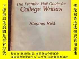 二手書博民逛書店The罕見Prentice Hall guide for col