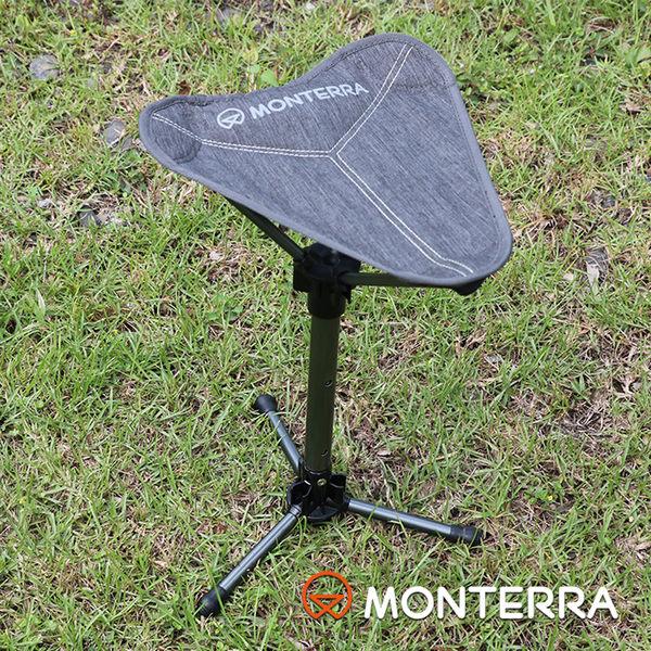 Monterra 輕量鞍型折疊椅 Uni-3 / 城市綠洲 (摺疊、折疊、露營桌椅、韓國品牌)