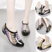 下雨鞋女短筒韓國時尚低筒膠鞋女水鞋防滑水靴雨靴女成人   可然精品鞋櫃