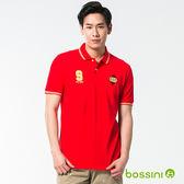 短袖圓領運動風POLO衫01紅-bossini男裝