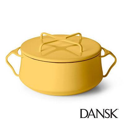 里和Riho Dansk Kobenstyle 雙耳砂鍋 2QT(黃)