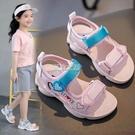 涼鞋 女童涼鞋新款夏季時尚中大童公主兒童寶寶小童軟底女孩童鞋