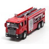 消防車兒童玩具合金小汽車模型雲梯水槍機場消防車HOT2927【歐爸生活館】