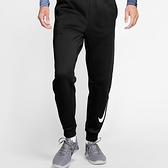 NIKE系列-THERMA PANT TPR SWOOSH 男款黑白刷毛訓練速幹長褲-NO.932258010