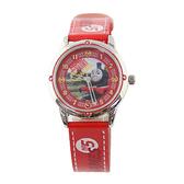 【Disney】湯瑪士小火車 皮製錶帶兒童錶-亮點紅/TF-3K2172U-002RD/原廠授權享一年保固