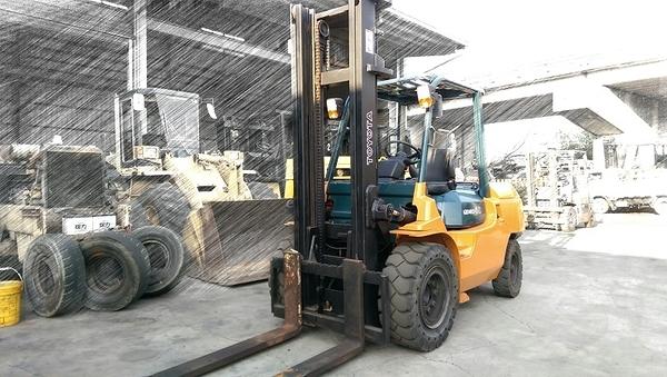 【永通推高機】TOYOTA 第七代 4.0噸 4米柴油堆高機