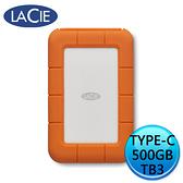 LaCie Rugged SSD 500GB Thunderbolt USB Type-C 2.5 外接式硬碟 STHR500800