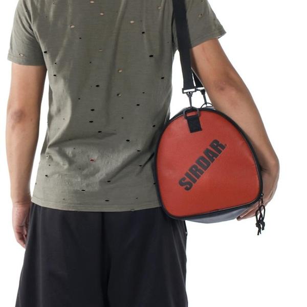 篮球袋 單肩籃球包球袋訓練運動背包斜跨男女成人兒童足排球PU包網兜 城市科技