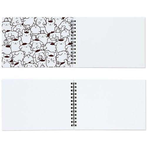 《Sanrio》maruman*布丁狗口袋系列寫生簿(趣味大臉)★funbox生活用品★_547387