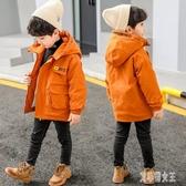 男童棉衣2019新款冬裝中大童加厚外套兒童棉服洋氣加絨棉襖 yu9753【艾菲爾女王】