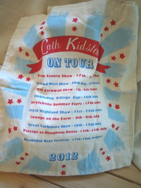 *禎的家* 英國名牌 Cath Kidston~ 棉布購物袋 *限量旅遊款