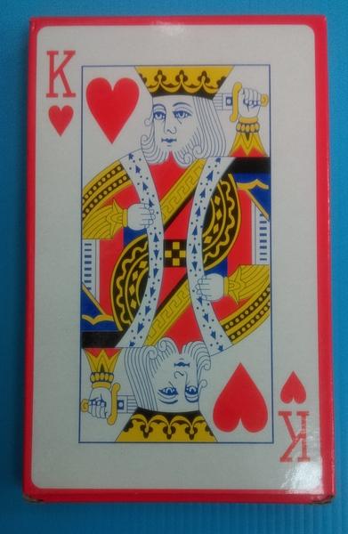 紅K大撲克牌