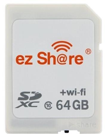 ez Share Wi-Fi SDHC-64GB 易享派 ezShare ES100 64G class 10 【公司貨】
