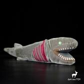 擬鰻鮫公仔 深海皺鰓鯊 動物毛絨玩具