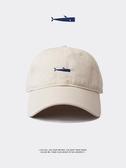 鴨舌帽創意男士帽子鴨舌帽ins潮牌棒球帽男潮流休閒軟頂日系女白色薄款