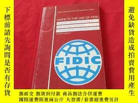 二手書博民逛書店THE罕見USE OF FIDIC CONDITIONS OF CONTRACT FOR WORKS OF CIV