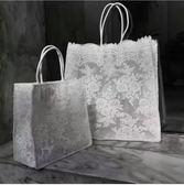托特包  蕾絲包輕復古單肩手提女包購物袋托特包時尚迷你小包