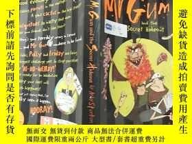 二手書博民逛書店mr罕見gum and the secret hideout :古姆先生和秘 密藏身處...Y200392