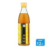 百家珍檸檬醋600mlx12【愛買】