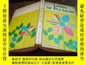 二手書博民逛書店LANDS罕見OF PLEASURE(精美插圖)Y333530