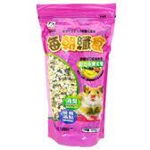 寶麟 每朝纖食 綜合水果大餐 鼠糧、小動物專用 400g【康鄰超市】