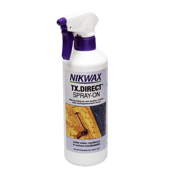 NIKWAX 噴式防水布料撥水劑 572《500ml》/ TX.Direct Spray-On / 專業機能性GORE TEX 噴霧劑 /英國原裝進口
