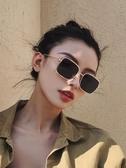 青陌 個性太陽鏡女復古墨鏡韓版長方形太陽眼鏡潮駕駛開車偏光鏡