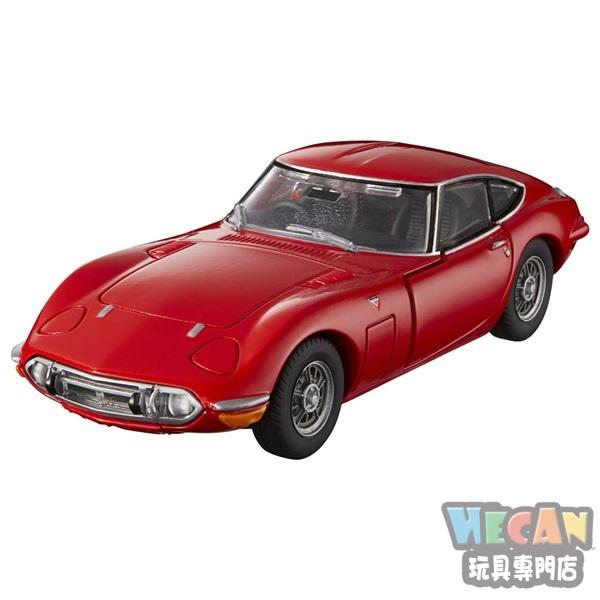 TOMICA多美小汽車黑盒 PREMIUM RS 豐田 2000GT紅色 14836