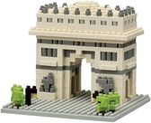 《 Nano Block 迷你積木 》【世界主題建築系列】NBH-075凱旋門 / JOYBUS玩具百貨