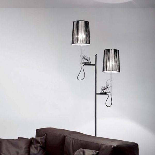 螞蟻造型黑色立燈(MO-8334-2)【DD House】