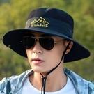 帽子男登山釣魚太陽帽遮陽帽戶外防曬旅游休閒【探索者】