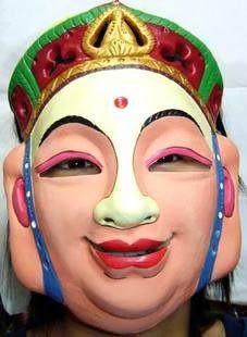 萬聖節面具乳膠面具西遊記師傅唐僧面具