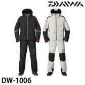 漁拓釣具 DAIWA DW-1006 黑 #M #L #XL (防水釣魚套裝)