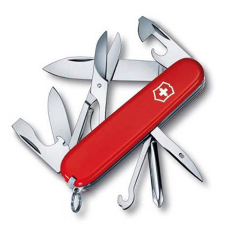 瑞士 維氏 Victorinox Super Tinker 超級修補匠 瑞士刀 14種功能 1.4703 露營│登山 318614703